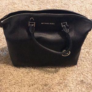 "Michael Kors ""Riley"" black handbag"